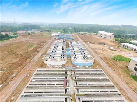 京山县城东污水处理厂总承包项目